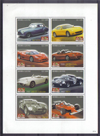 Sierra Leone 2007 Ferrari Sheet Y.T. 4190/4197 ** - Sierra Leone (1961-...)