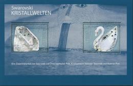 Österreich 2004 Glaskunstausstellung Swarowski Block 25 Postfrisch (C16502) - Blocks & Sheetlets & Panes