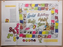 "Lambil, Walthéry, Hardy, Malik & Seron"" Afmetingen: Poster: 68,5cm X 51,5cm - Affiches & Posters"