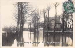 92 - COLOMBES - L'Inondation : Villa REINE HENRIETTE (1 Sur 2)  CPA - Hauts De Seine - Colombes