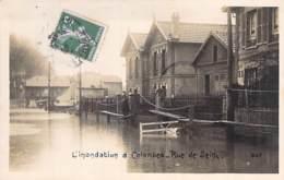 92 - COLOMBES - L'Inondation : Rue De Seine - CPA - Hauts De Seine - Colombes