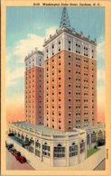 North Carolina Durham Washington Duke Hotel Curteich - Durham