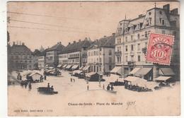 Suisse - NE - Chaux-de-fonds - Place Du Marché - NE Neuchâtel