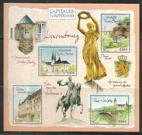 117 France BF 64 Capitales Européennes Luxembourg N++ - Neufs