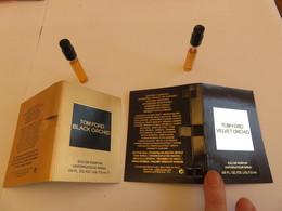 Echantillon ,tube Sur Carton Tom Ford - Parfums - Stalen
