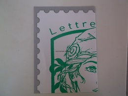 1 Er Quart Marianne Ciappa Et Kawena  4/4 1/4 Lettre Verte - Documents De La Poste