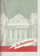 """Programmaboekje Van De Operette """"De Vledermuis"""" Uit 1955 In De K.Vlaamse Opera - Théâtre"""