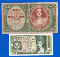 Autriche  2  Billets - Oesterreich
