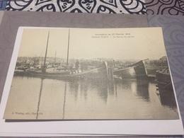 Cpa Sedan Torcy Le Canal En Amont Inondation Du 27 Février 1910 - Sedan