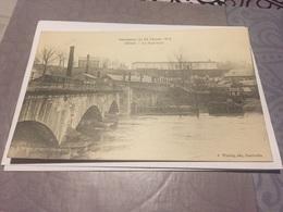 Cpa Sedan Le Pont Neuf Inondation Du 27 Février 1910 - Sedan