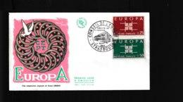 1396 1397  F.D.C  Strasbourb 14 09 1963 Conseil De L'Europe   Europa 1387 - FDC