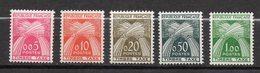 1960  -- Taxes  N° 90 à 94  ( 5 Valeurs ) ---NEUFS  **  --SANS Charnière--gomme Intacte -- Cote 80€  ...à Saisir - Postage Due