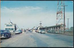 °°° 19620 - USA - VA - NORFOLK NEWPORT NEWS FERRY LANDING - 1954 With Stamps °°° - Norfolk