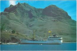 Bateau Aranui - Baie De Taihoae - Archipel Des Marquises - & Boat - French Polynesia
