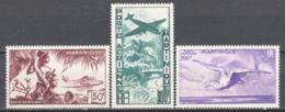 Martinica 1947 Y.T.a13/15 */MH VF/F - Poste Aérienne