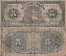 Mexico / 5 Pesos / 1963 / P-60(h) / VG - Messico
