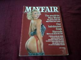 MAGAZINE  MAYFAIR  EN ANGLAIS  VOLUME  21   No 6 - Men's
