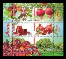 Kyrgyzstan 2020 Mih. 987/92 Flora. Gifts Of Nature. Pomegranate MNH ** - Kyrgyzstan