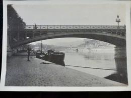 Photo ORIGINALE : Pont Du Rhone _ LYON _ CIRCA Début XXème - Lieux