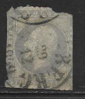 Norway Scott # 3 Used King Oscar, 1857, CV$120.00, Space Filler - Norway