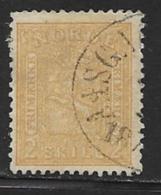Norway Scott # 12 Used Arms, 1867, CV$55.00 - Norway