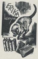 Ex Libris Erika - József Menyhárt (1910-1976) - Ex-libris