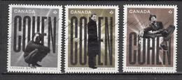 ##30, Canada, Série Complète, Complete Set, Leonard Cohen, Chanteur, Singer, Musique, Music - 1952-.... Regering Van Elizabeth II