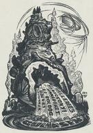 Nieuwjaarskaart Gulyasek - Lázár László Nagy (1935-) - Prenten & Gravure
