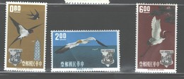 TAIWAN,1963 #1370-1372 VLH  C.V.$23.00 - 1945-... Republic Of China