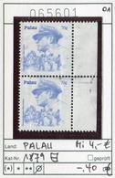 Palau - Michel 1879 Paar - Oo Oblit. Used Gebruikt - Palau