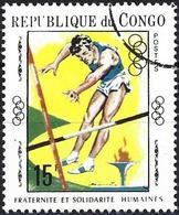 Congo (Braz) 1970 - Mi 219 - YT 253F ( Olympics Games : Pole Vaulting ) - Congo - Brazzaville