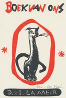 Ex Libris D. & I. La Meir - Dirk La Meir Gesigneerd - Ex-libris