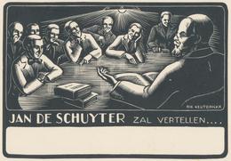 Kleingrafiek Jan De Schuyter - Rik Keuterickx (1907-1974) - Prenten & Gravure