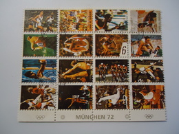 UMM AL QIWAIN USED MINI SHEET OLYMPIC GAMES  MUNICH 1972 - Summer 1972: Munich