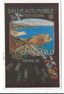 Rallye Automonile International Monte Carlo Janvier 1911 - Non Classificati