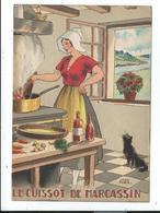 """Illustration Signée Jean Paris ,""""nos Plats Régionaux """" Cuissot De Marcassin - Autres Illustrateurs"""