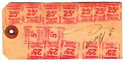 29800 - étiquette Avec  14 EMA - 1921-1960: Période Moderne