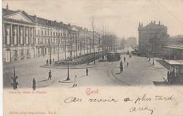 GENT / GRAAF VAN VLAANDEREN PLEIN /  TRAM / TRAMWAYS   1901 - Gent