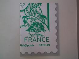 3 ème Quart Marianne Ciappa Et Kawena  3/4 1/4 Lettre Verte - Documents De La Poste