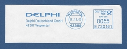 BRD AFS - WUPPERTAL, Delphi Deutschland GmbH 2003 - Machine Stamps (ATM)