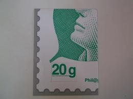 4 ème Quart Marianne Beaujard 20 G Lettre Verte 4/4 1/4 - Documents De La Poste