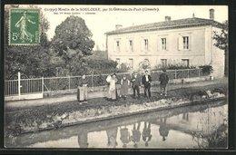 CPA St-Germain-du-Puch, Moulin De La Souloire - Non Classés