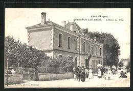 CPA Andernos-Les-Bains, L'Hotel De Ville - Andernos-les-Bains