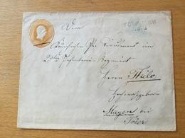 FL2703 Preussen Ganzsache Stationery Entier Postal U 3BI Von Torgelow Nach Mayen Bei Trier - Preussen