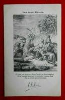 CPA Fantaisie Fable/ Les Deux Mulets - Contes, Fables & Légendes