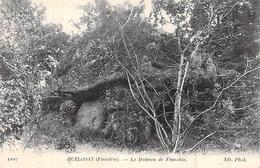 C P A 29] Finistère > Huelgoat LE DOLMEN DE FRANCHIE - Huelgoat