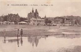 CARTE POSTALE   VILLERS SUR MER 14  Le Casino - Villers Sur Mer