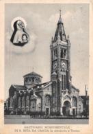 "M09063 ""SANTUARIO MONUMENTALE DI S. RITA DA CASCIA IN EREZIONE A TORINO""- CART. ILLUSTR. ORIG.  SPEDITA - Churches"