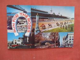 Run For The Roses Home Of Kentucky Derby - Kentucky > Louisville   Ref 3941 - Louisville