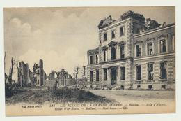 BAILLEUL- Asile D'Aliénés-les Ruines De La Grande Guerre - France